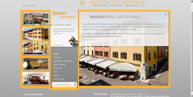 Website Hotel Centrale
